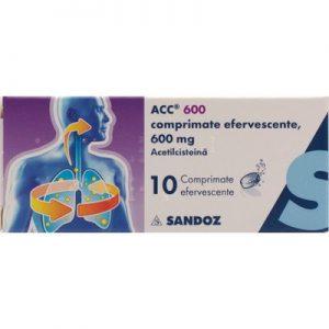 ACC 600 mg X 10 COMPR. EFF. SANDOZ S.R.L.
