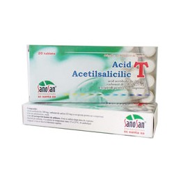 ACID ACETILSALICILIC T 500mg X 20 COMPR. SANTA SA